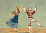 The favourite comic dance by Anonymous - print