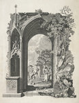 Elegy Written in a Country Graveyard by Sabine Baring-Gould - print