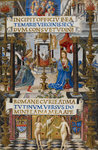 The Annunciation to the Virgin (Mirandola Hours) by Anonymous - print