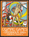 Olympic Games Stockholm 1912 by Anonymous - print