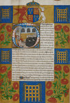 Quadripartite Indenture by Jean de Meun - print