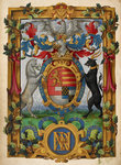Arms of Henry Fitzalan by Anonymous - print