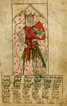 King Arthur by Associate of the Beaufort Saints Master - print