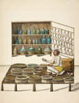 Apothecary by William Daniell - print