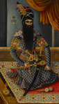 Fath 'Ali Shah King of Persia 1797-1834 by Shivalal - print