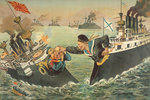 The Russo-Japanese War by Irakli Toidze - print