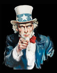 Uncle Sam by Anonymous - print