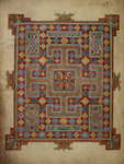 Carpet page from the Lindisfarne Gospels by Anonymous - print
