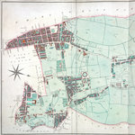 Thompson map of the parish of St Pancras, 1804 by Thomas Tegg - print