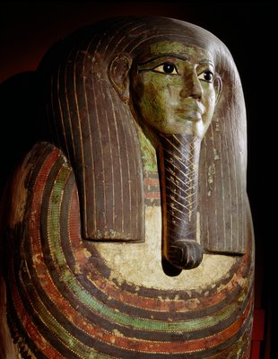 Mummiform coffin of Hor Postcards, Greetings Cards, Art Prints, Canvas, Framed Pictures, T-shirts & Wall Art by Corbis