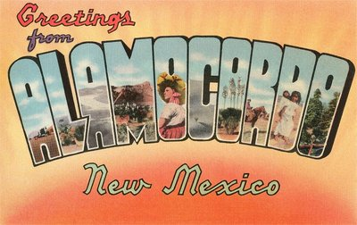 Greetings from Alamogordo, New Mexico Wall Art & Canvas Prints by Corbis
