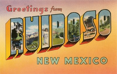 Greetings from Ruidoso, New Mexico Wall Art & Canvas Prints by Corbis