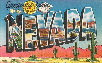 Greetings from Nevada Wall Art & Canvas Prints by Corbis