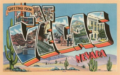 Greetings from Las Vegas, Nevada Wall Art & Canvas Prints by Corbis