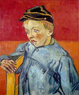 The Schoolboy Wall Art & Canvas Prints by Vincent Van Gogh