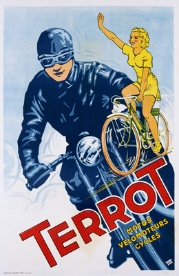 Terrot Cycles Poster Wall Art & Canvas Prints by Corbis