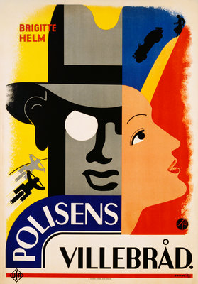 Polisens Villebrad Movie Poster Wall Art & Canvas Prints by Donner