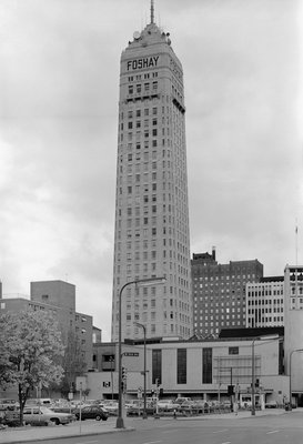 Foshay Tower Wall Art & Canvas Prints by Corbis