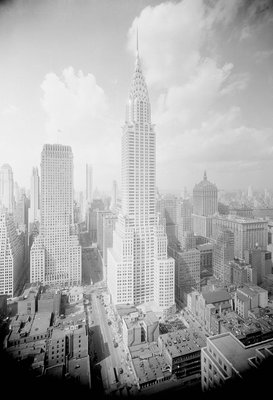 Chrysler Building Wall Art & Canvas Prints by Corbis