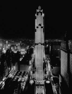 R.C.A. Building at Rockefeller Center, New York Wall Art & Canvas Prints by Corbis