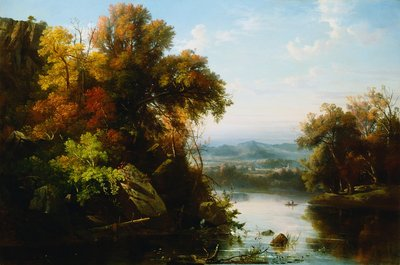 <Indian Summer> by Regis Francois Gignoux Wall Art & Canvas Prints by Regis Francois Gignoux