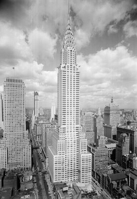 Chrysler Building in New York City Wall Art & Canvas Prints by Corbis