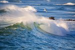 Heavy Surf off Cape Kiwanda on Oregon Coast Wall Art & Canvas Prints by Jacob Sutton