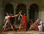 <Oath of the Horatii> by Jacques-Louis David Wall Art & Canvas Prints by Anthony Southcombe