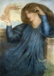 La Donna della Flamma Postcards, Greetings Cards, Art Prints, Canvas, Framed Pictures, T-shirts & Wall Art by Evelyn De Morgan