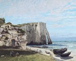 The Cliffs at Etretat after the Storm Wall Art & Canvas Prints by Eric Hains