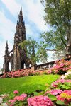 Princes Street Gardens, Edinburgh, Scotland, UK Postcards, Greetings Cards, Art Prints, Canvas, Framed Pictures & Wall Art by Augustus Charles Pugin