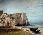 The Cliffs at Etretat after the Storm Postcards, Greetings Cards, Art Prints, Canvas, Framed Pictures & Wall Art by William Cooper