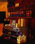 Coffee Station Postcards, Greetings Cards, Art Prints, Canvas, Framed Pictures, T-shirts & Wall Art by Max Ferguson