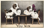 You Win Postcard Wall Art & Canvas Prints by Lisa Graa Jensen