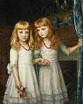 Marjory and Lettice Wormald Postcards, Greetings Cards, Art Prints, Canvas, Framed Pictures, T-shirts & Wall Art by Thomas Gainsborough