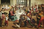 The Marriage at Cana Postcards, Greetings Cards, Art Prints, Canvas, Framed Pictures & Wall Art by Anonymous