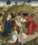 Entombment Wall Art & Canvas Prints by Luis Monroy