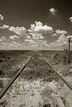 Old Railroad Tracks Wall Art & Canvas Prints by N. and Ives, J.M. Currier