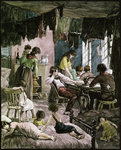 19th-Century Engraving of a New York Sweatshop Postcards, Greetings Cards, Art Prints, Canvas, Framed Pictures & Wall Art by Simon Edmondson