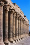 Philae Temple Colonnade, Temple of Isis Wall Art & Canvas Prints by William James Muller