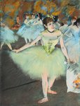On Stage Wall Art & Canvas Prints by Edgar Degas