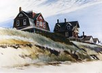 Cottages at Wellfleet Postcards, Greetings Cards, Art Prints, Canvas, Framed Pictures, T-shirts & Wall Art by American School