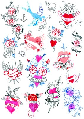 Tattoos by Hennie Haworth - print
