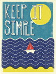 Keep It Simple Fine Art Print by Dale Edwin Murray