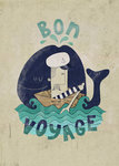 Bon Voyage Fine Art Print by Dale Edwin Murray