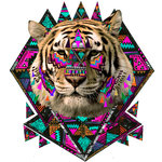 Wild Magic Ohh Deer Fine Art Print by Kris Tate