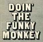Doin' The Funky Monkey Poster Art Print by Vintage by Hemingway