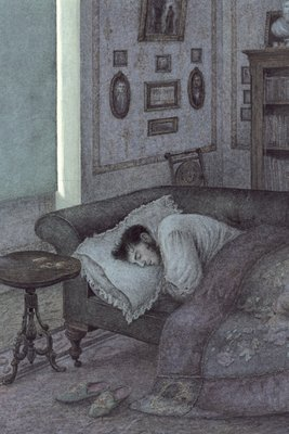 Anna Karenina by Leo Tolstoy, Illustration 2 Fine Art Print by Angela Barrett