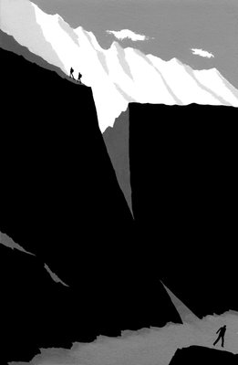 Touching the Void 2 Fine Art Print by Geoff Grandfield