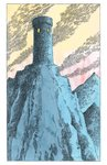 His Dark Materials: The Amber Spyglass by Philip Pullman, Illustration 2 by Peter Bailey - print